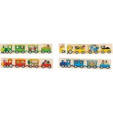 Goki Τα Τρένα-Παιχνίδι Μνήμης