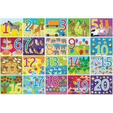 Επιδαπέδιο Παζλ Αριθμών 1-20 Bigjigs BJ559