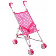 Μίνι Καρότσι Κούκλας buggy ροζ Bayer Chic 2000  60011