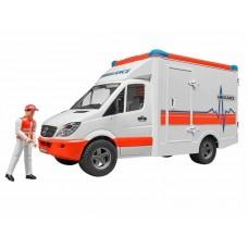 Ασθενοφόρο Mercedes Sprinter με οδηγό Bruder 02536