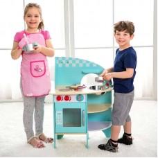 Μπλε Ξύλινη Κουζίνα Classic World CL4157