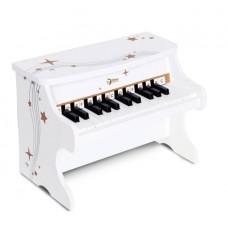 Ξύλινο Λευκό Πιάνο Classic World CL40536