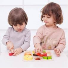 Ξύλινο Παζλ Κόβω Φρούτα Classic World CL5012