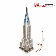 Chrysler Building 3D Puzzle Cubic Fun CF0075