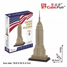 Empire State Building 3D Puzzle Cubic Fun CF0246