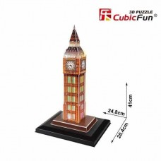 Big Ben London 3D LED Puzzle Cubic Fun CF0501
