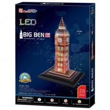 Big Ben London 3D LED Puzzle Cubic Fun CF0501