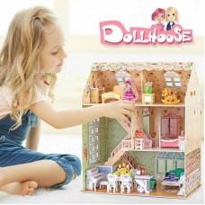 Dreamy Dollhouse 3D Παζλ 160τμχ Cubic Fun P645h
