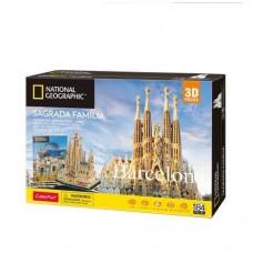 Sagrada Familia 3D Puzzle Cubic Fun DS0984h