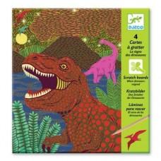 Ανακαλύπτω Ξύνοντας την Εικόνα-Δεινόσαυροι Djeco 09726