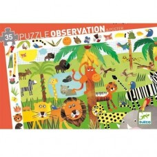 Παζλ παρατήρησης η ζούγκλα 35 τμχ Djeco 07590