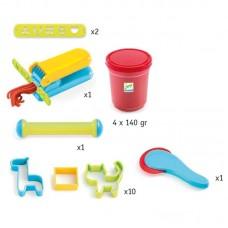 Σετ 4 Πλαστοζυμαράκια και 15 Εργαλεία Djeco 09755