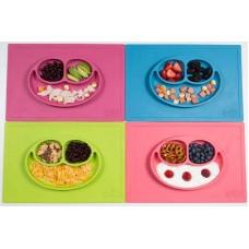 Δίσκος και πιάτο σε ένα Happy mat in Pink Ezpz HM-P7424U