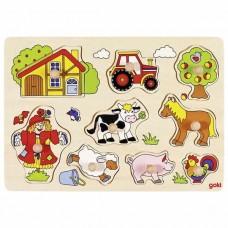 Παζλ Αγρόκτημα VI 9τεμ Goki 57995