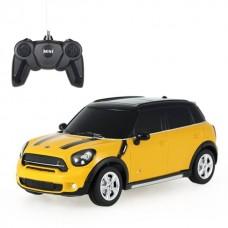 Τηλεκατευθυνόμενο Mini Cooper S Countryman 1:24 Yellow Rastar 71700