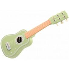 Παιδική Ξύλινη Κιθάρα Απαλό Πράσινο Joueco 80104