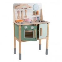 Παιδική Ξύλινη Κουζίνα Joueco 80103