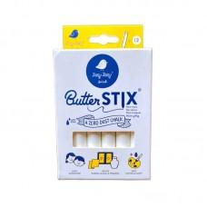 Κιμωλίες Λευκές Butterstix 12τμχ Jaq Jaq Bird JJB-BSW