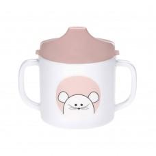 Εκπαιδευτικό Ποτηράκι Sippy Cup Little Chums Mouse Lässig 1310071725