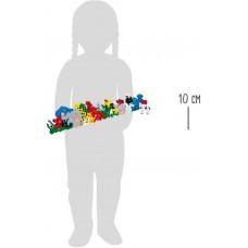 Ξύλινο Παζλ 26τμχ Γράμματα και Αριθμοί Ζωάκια Legler 2841