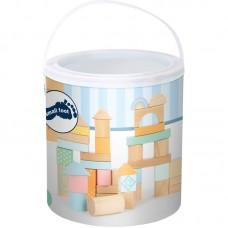 Οικοδομικό Υλικό 50τμχ Παστελ Χρώματα Legler 11722
