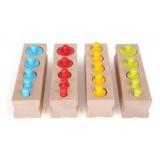 Wild Colours Παζλ 20τμχ Montessori Legler 10525