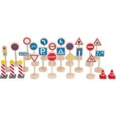Ξύλινα Σήματα Οδικής Κυκλοφορίας Legler 11736