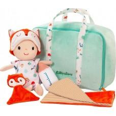 Πάνινη Κούκλα με τσάντα δραστηριοτήτων Lilliputiens 83093