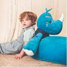 Υφασμάτινο Παιδικό Πουφ Marius Ρινόκερος Lilliputiens 83244
