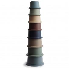 Παιχνίδι Στοίβαξης Stacking Cups Forest Mushie 2400292
