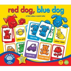 Red Dog, Bleu Dog Lotto Game Orchard 044