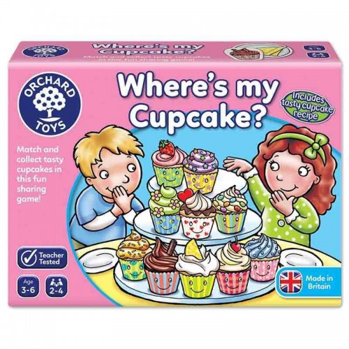 Where's My Cupcake Game Orchard Toys 013