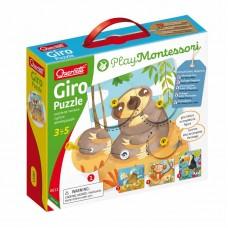 Giro Puzzle Montessori Quercetti 0611