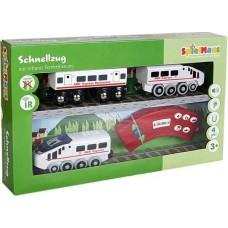 Ξύλινο Τρένο με Τηλεχειριστήριο Spielmaus 42519481