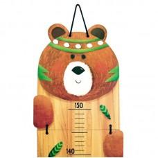 Παιδικό Αναστημόμετρο Αρκουδάκι Svoora 21006