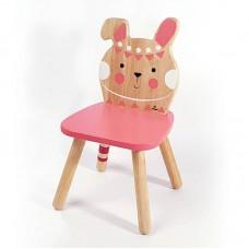 Ξύλινη Παιδική Καρέκλα Λαγουδάκι Svoora 22005