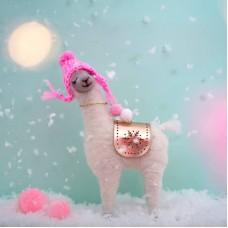 Χριστουγεννιάτικο Διακοσμητικό Llama Sass and Belle HOBXM068