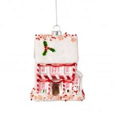 Χριστουγεννιάτικο Στολίδι Pink Fairytale House Sass and Belle VERXM190