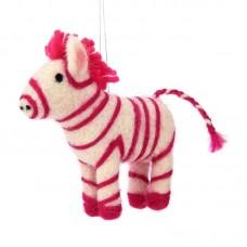 Χριστουγεννιάτικο Στολίδι Pink Zebra Sass and Belle CRAFTXM109