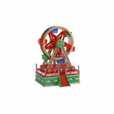 Χριστουγεννιάτικος Τροχός από πορσελάνη Spieluhrenwelt 19736