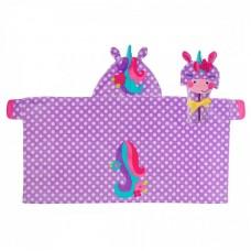 Παιδική Πετσέτα με κουκούλα Μονόκερος Stephen Joseph SJ100421