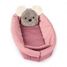 Βρεφική Φωλιά Ροζ Mabel το Ποντικάκι Sterntaler 9132001