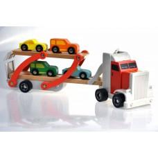 Ξύλινη Νταλίκα μεταφοράς αυτοκινήτων Topbright 120327