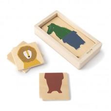 Ξύλινο Combo Puzzle με Ζωάκια Trixie 77360