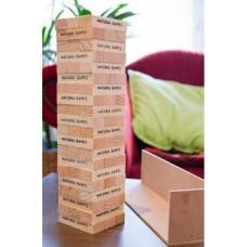 Ξύλινος πύργος ισορροπίας Natural Games 61053379