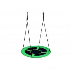 Κρεμαστή κούνια-φωλιά Πράσινη 90cm Vedes 71703169